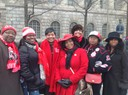 Board Members at Suffrage March