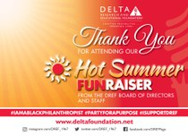 """DREF's Black Philanthropy Month FUNraiser... A Great """"Party with a Purpose""""."""