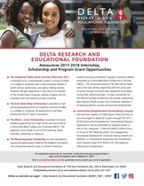 DREF announces the 2017-2018 Community Empowerment Grants, Scholarships, and the STJ Internship.  Apply Now!