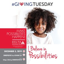 #GivingTuesday! Save the Date! On December 3rd, become a Partner for Possibilities!