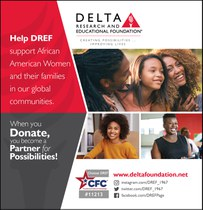 Your Combined Federal Campaign deadline is January 15!  Choose DREF and become a Partner for Possibilities!