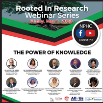 Join the DREF and BGLC Rooted in Research Webinar Series May 1- May 28