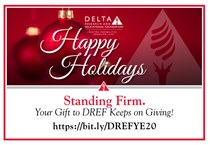 You Can Help DREF Continue to Give the Gift of Possibilities!